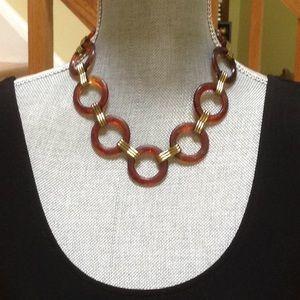 Vintage plastic chain/necklace , vintage condition